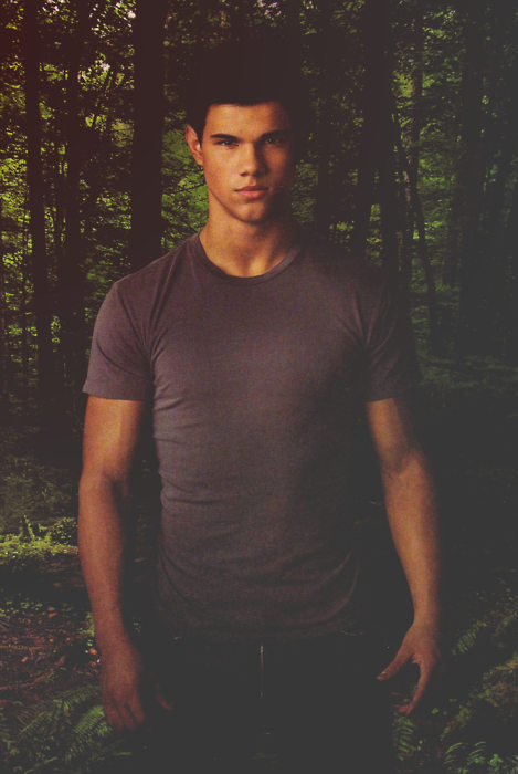 New/Old Promotional Photo Of Jacob Black in New Moon!
